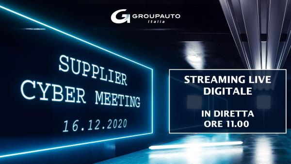Il Supplier Cyber Meeting di Groupauto Italia in diretta streaming