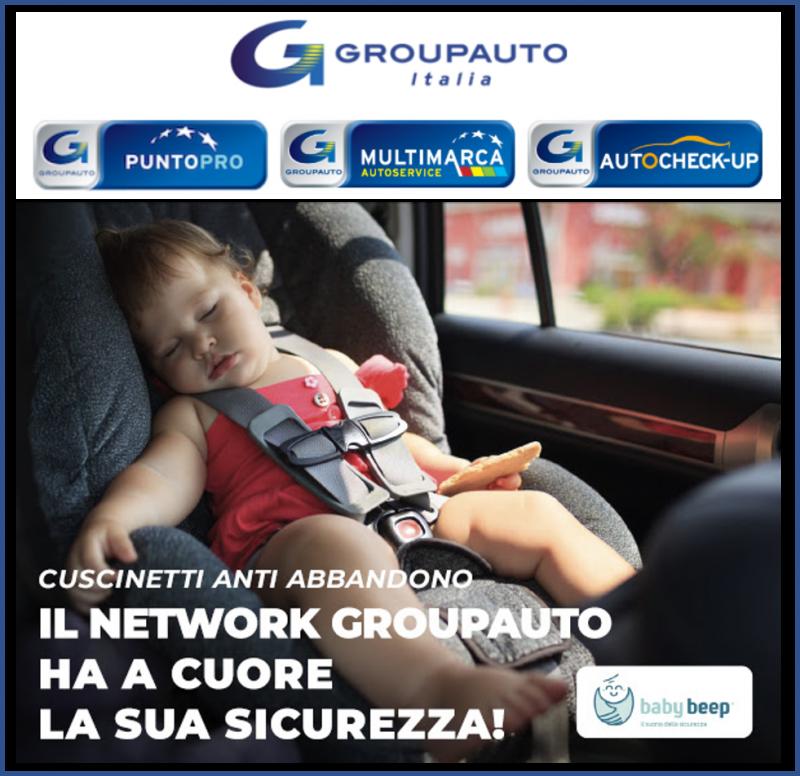 Dispositivi antiabbandono : Groupauto attiva convenzione con babybeep