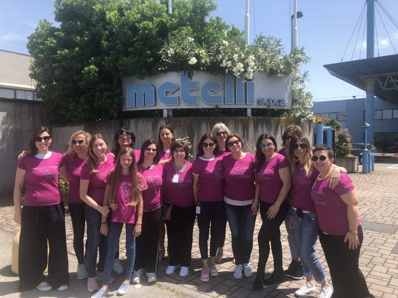 "M.D.F. e Metelli ""in rosa"""