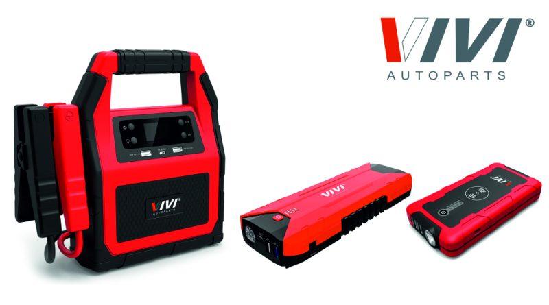 Nuovi arrivi in casa VIVI Autoparts: avviatori batteria e power bank