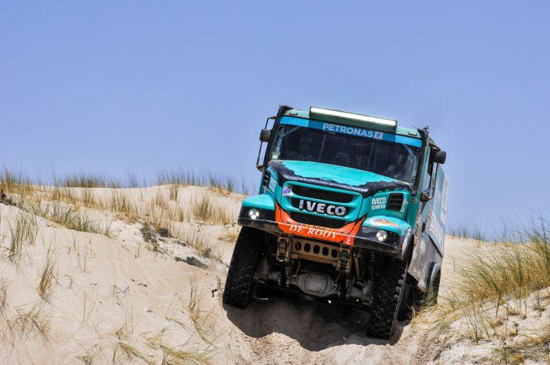Il Team PETRONAS De Rooy IVECO è pronto il Dakar 2019