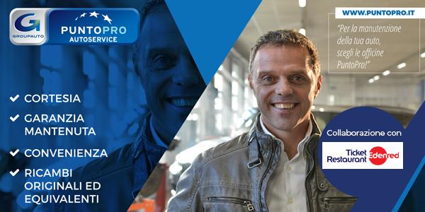 PuntoPRO rinnova la collaborazione con Edenred – Ticket Restaurant