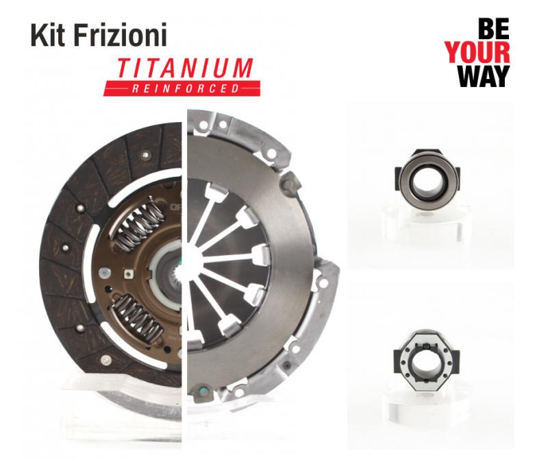 Kit Frizione OP: qualità superiore con la nuova versione TITANIUM