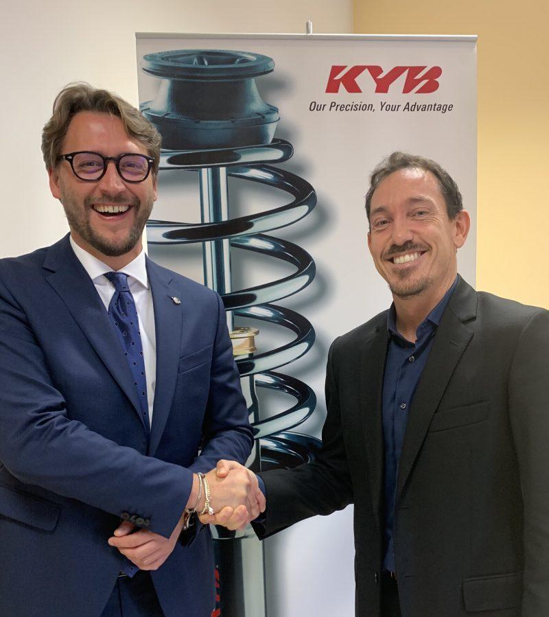KYB Italy dà il benvenuto al nuovo Technical Manager