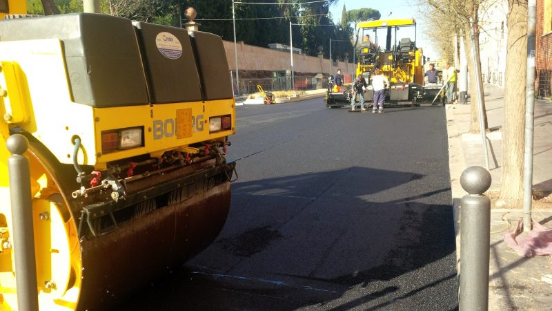 Ripartono i lavori stradali dopo 10 anni di calo continuo
