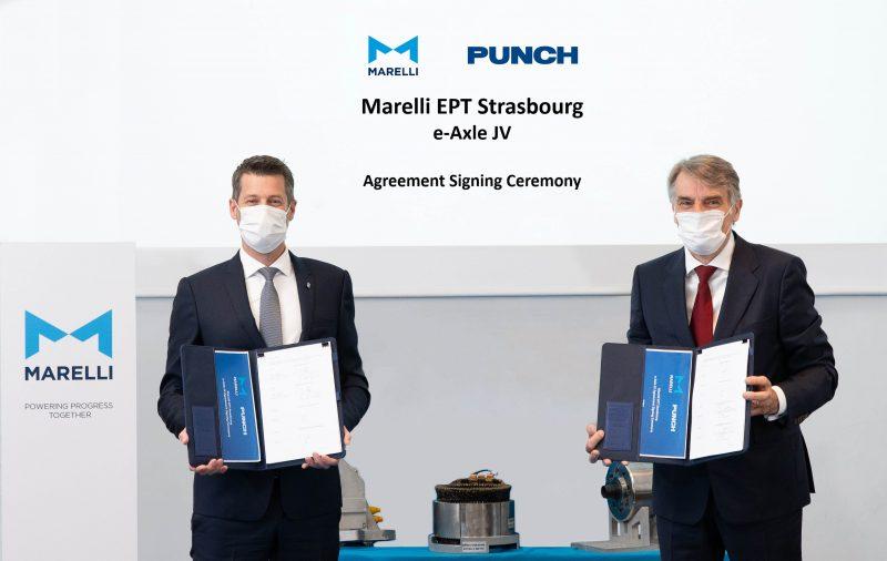 Nuova joint venture tra Marelli e PUNCH per e-axle veicoli elettrici