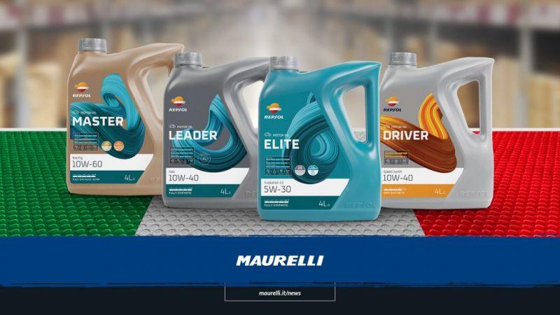 Maurelli diventa il distributore esclusivo di lubrificanti Repsol in Italia