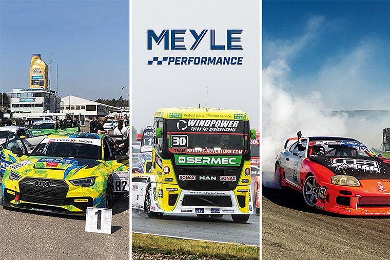 Performance MEYLE: vasto programma di sponsorizzazioni per il 2019
