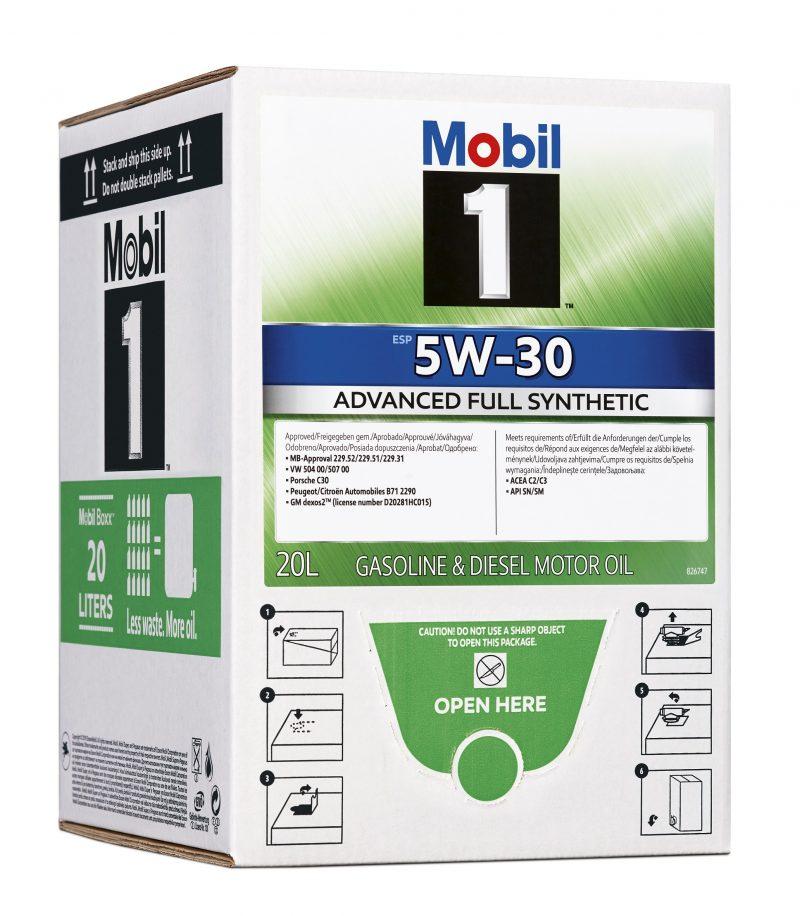 Oli Lubrificanti: arriva in Italia la nuova soluzione di packaging Mobil Boxx