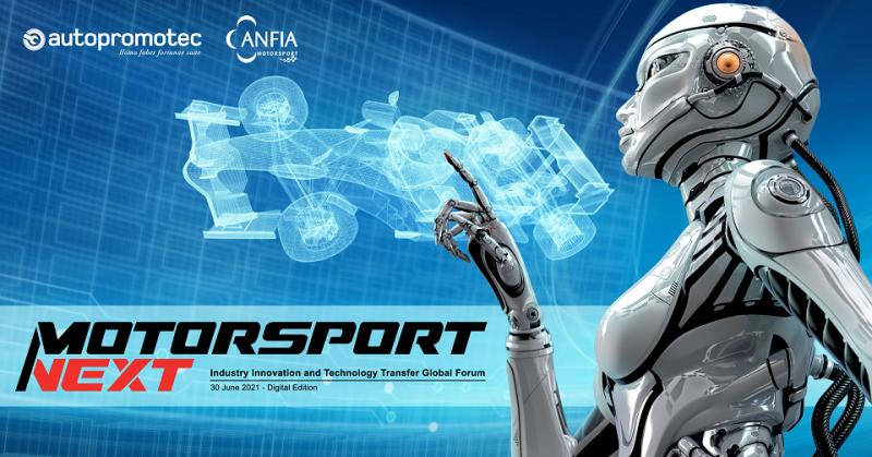 Motorsport Next – Industry Innovation and Technology Transfer Global Forum: il 30 giugno la manifestazione digitale organizzata da ANFIA–Motorsport e Autopromotec