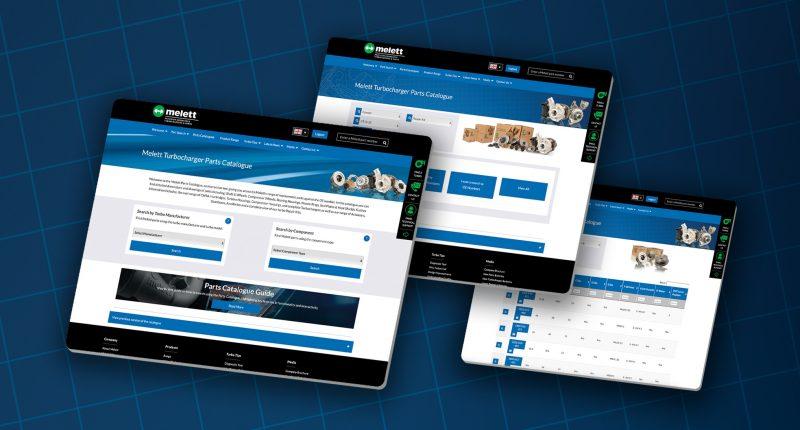 Melett semplifica l'individuazione dei componenti turbo con il nuovo catalogo online