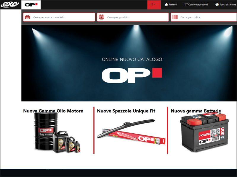 Online il nuovo catalogo Open Parts