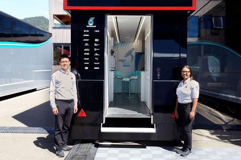 Petronas e la Formula 1: il ruolo del Trackside Fluid Engineer