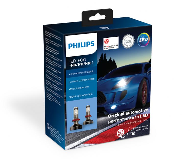 Il LED Philips X-tremeUltinon gen2 si aggiudica il Red Dot Award