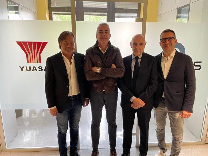 GS Yuasa Battery Italy sigla accordo con il Consorzio Neoparts