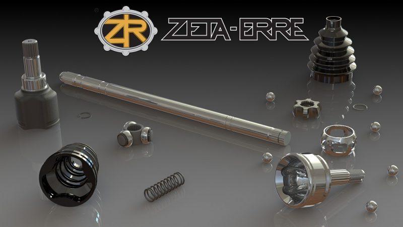 ZETA-ERRE, gli specialisti di giunti omocinetici e componenti trasmissione