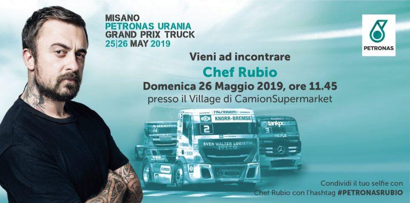 PETRONAS ospita Chef Rubio al PETRONAS Urania Gran Prix Truck di Misano