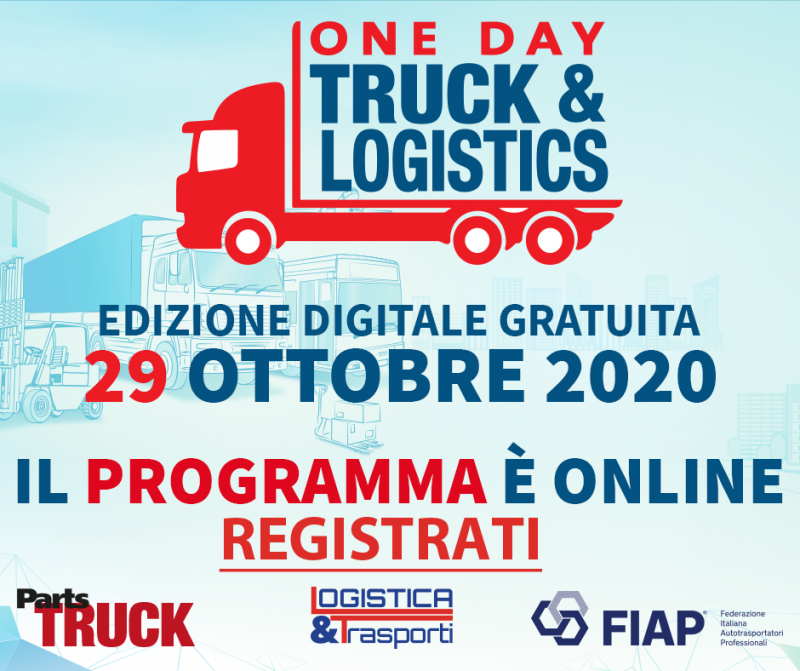 One Day Truck&Logistics 2020 Digital Edition: il programma è online