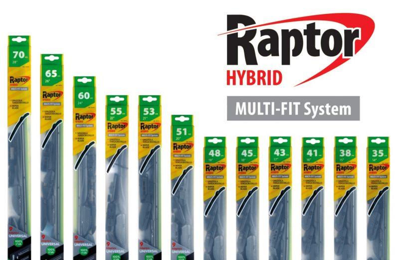 Lampa: nuova linea di spazzole Raptor Hybrid