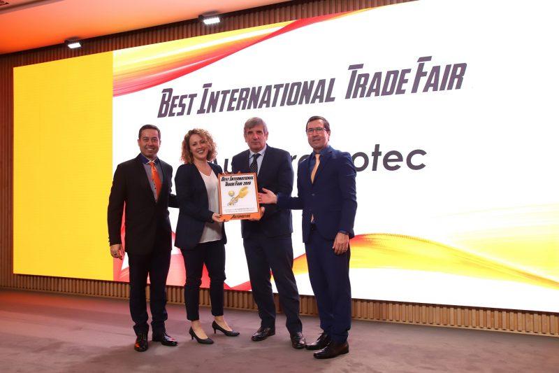 Autopromotec premiata come miglior fiera internazionale per l'anno 2019