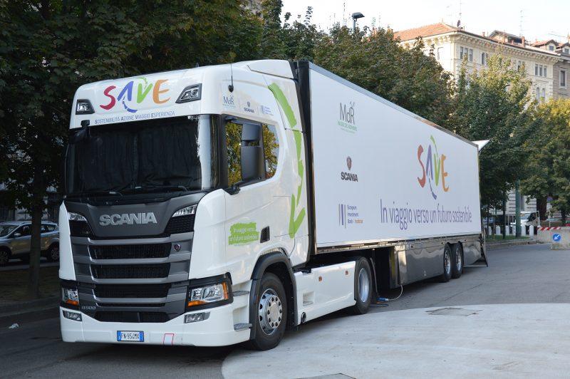 """Scania: parte il """"Museo su ruote"""" per educare all'uso consapevole delle risorse"""