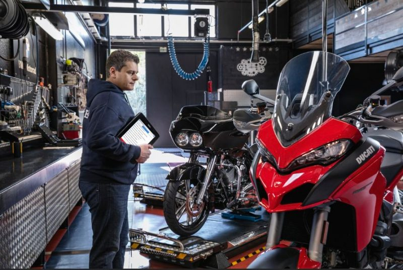 TEXA sensibilizza i motociclisti alla diagnosi preventiva dei propri mezzi