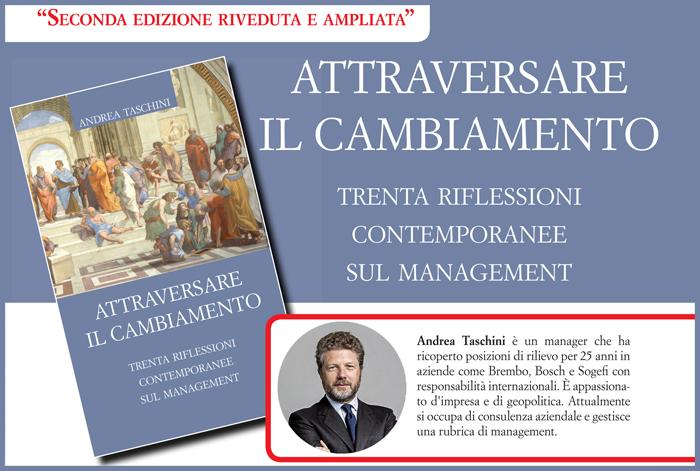 """Un libro per quest'estate: """"Attraversare il cambiamento"""" di Andrea Taschini"""