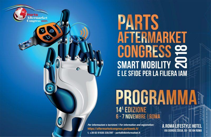 Il programma del Parts Aftermarket Congress 2018