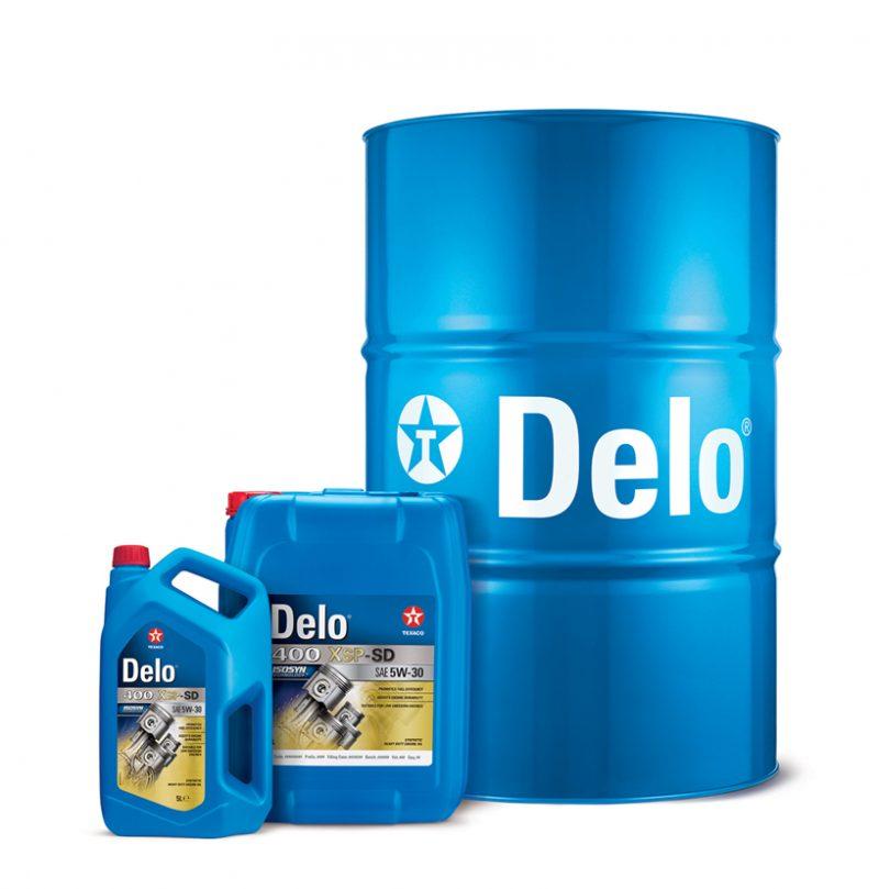 Chevron Lubricants presenta Texaco Delo® 400 XSP-SD – SAE 5W-30