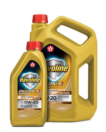 Texaco Havoline: lubrificanti a bassa viscosità di nuova formulazione