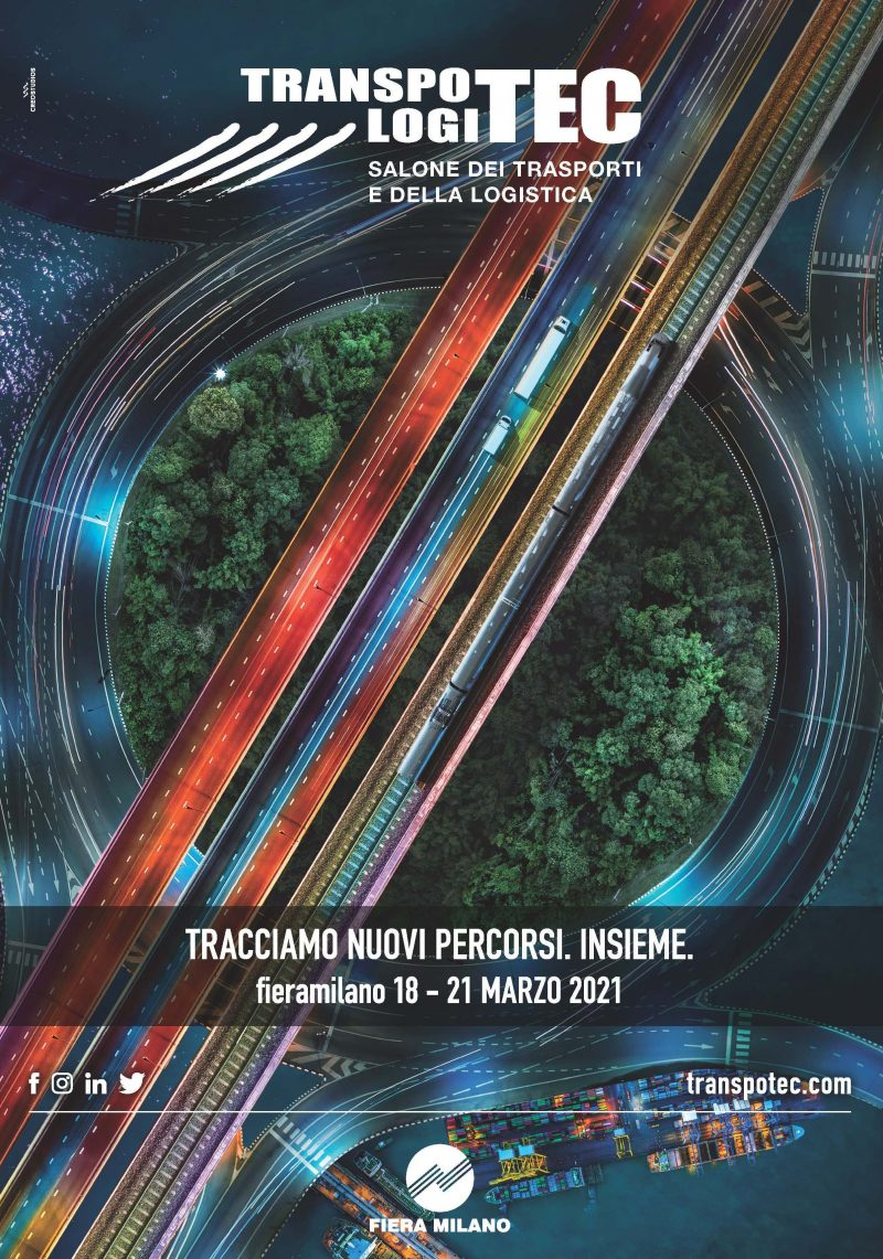 Transpotec Logitec dal 18 al 21 marzo 2021 a Milano
