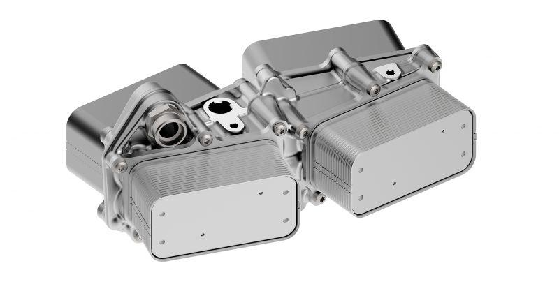 UFI Filters sui mezzi pesanti elettrici con il modulo di raffreddamento per e-axle