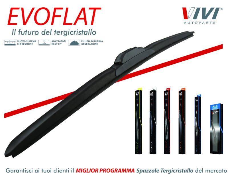 VIVI lancia Evoflat, la spazzola tergicristallo di ultima generazione