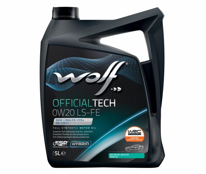 Wolf Lubricants: approvazione di Opel per OFFICIALTECH 0W-20 LS-FE