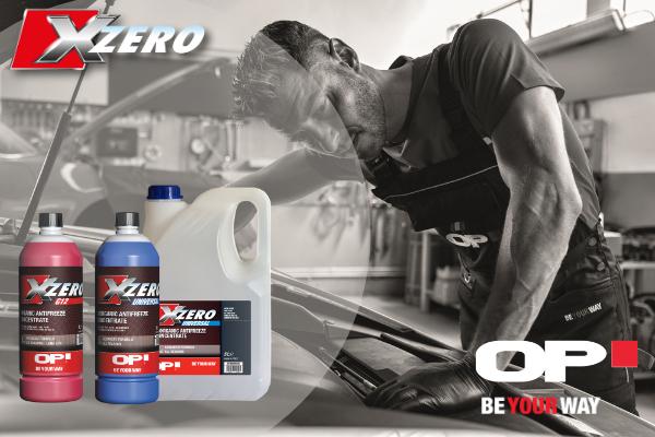 OP lancia Xzero, Liquido Antigelo per prestazioni superiori