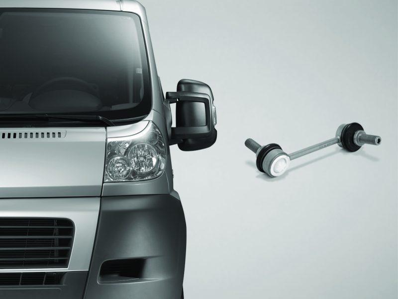 ZF Aftermarket fornisce componenti chassis per numerosi modelli di veicoli commerciali leggeri