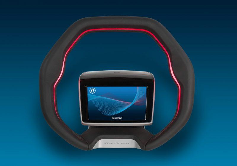 ZF sviluppa volante di nuova concezione per la guida autonoma