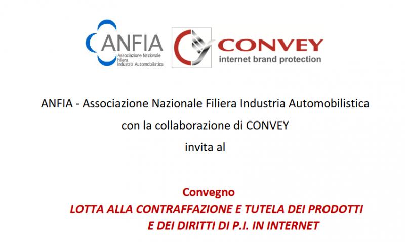 ANFIA – CONVEY raccontano i successi nella lotta alla contraffazione