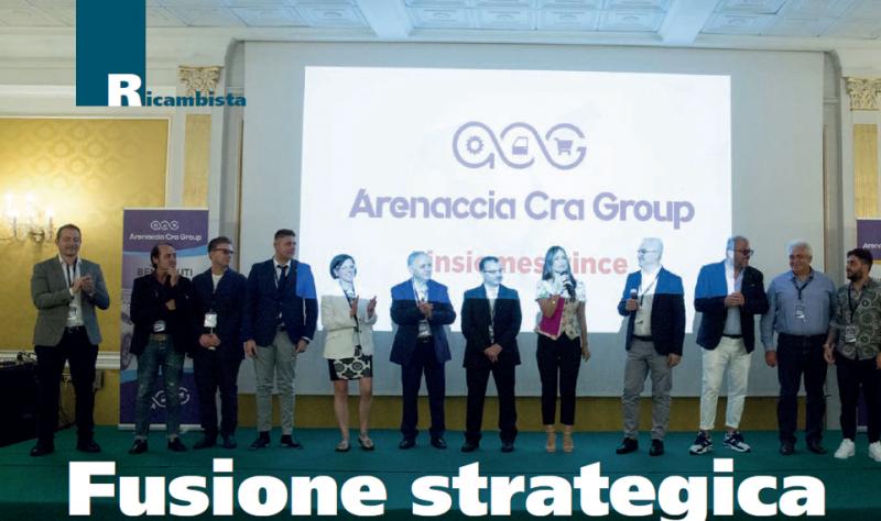 Due ricambisti uniscono le forze: nasce Arenaccia Cra Group