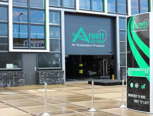 Arnott ottiene la certificazione TÜV per il suo stabilimento europeo