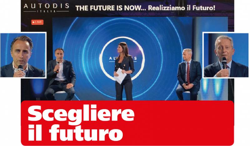 """Autodis Italia: l' evento digitale """"The future is now… Realizziamo il Futuro"""""""
