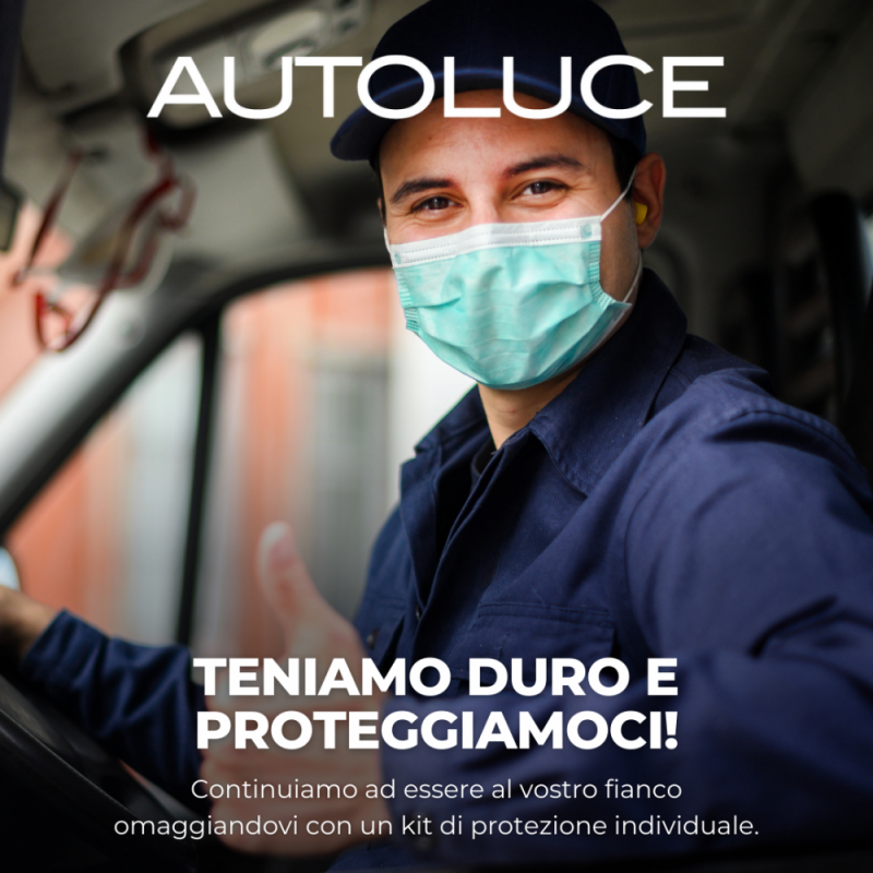 Autoluce: kit sicurezza in omaggio alle officine