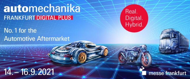 Automechanika Francoforte in presenza nel 2022 (13-17 settembre), nel 2021 il nuovo formato Digital Plus (14-16 settembre)