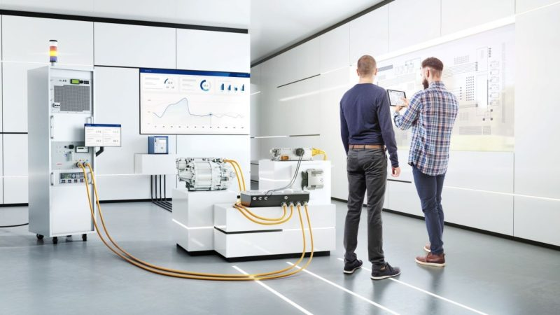 Nuovo tester di Bosch Engineering per i componenti ad alta tensione