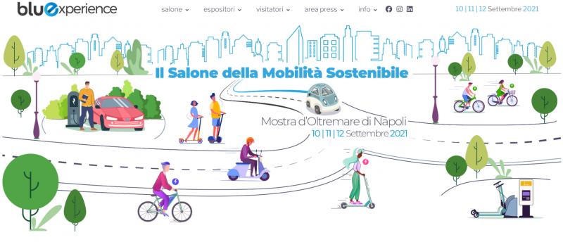 Bluexperience: dal 10 al 12 settembre a Napoli il Salone della Mobilità Sostenibile
