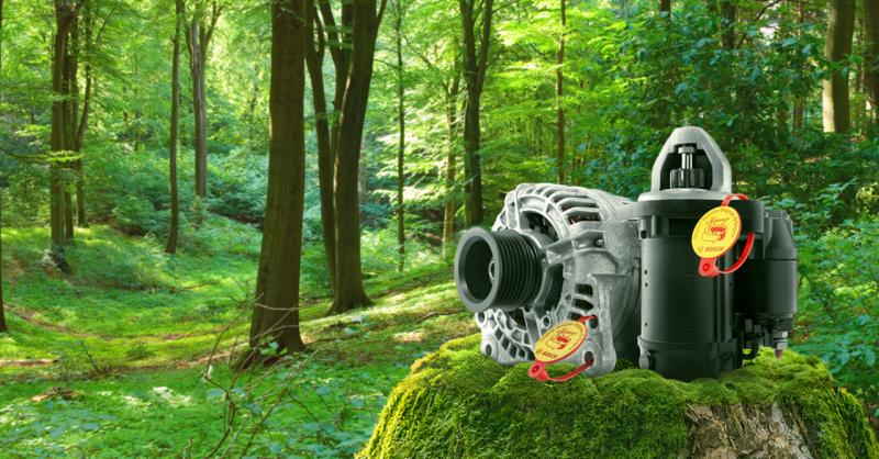 Rigenerato: motorini avviamento e alternatori Bosch eXchange