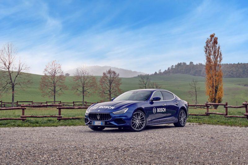 Auto ibride: tecnologia e componenti Bosch sulla nuova Maserati Ghibli Hybrid
