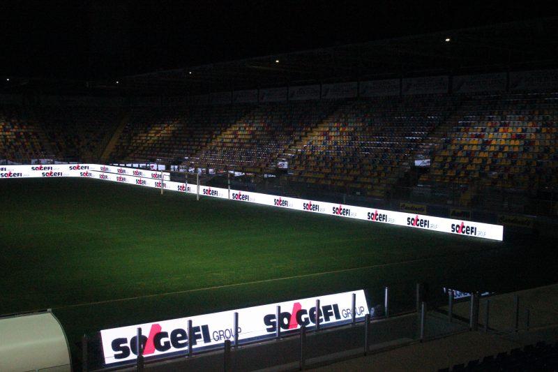 Sogefi scende in campo con le officine nello stadio del Frosinone Calcio