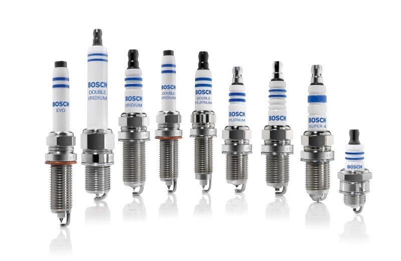 Candele Bosch EVO ad alta resilienza, specifiche per motori turbo
