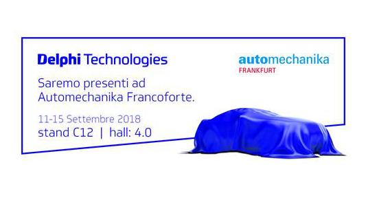 Delphi Technologies sceglie Automechanika per annunciare nuovo marchio